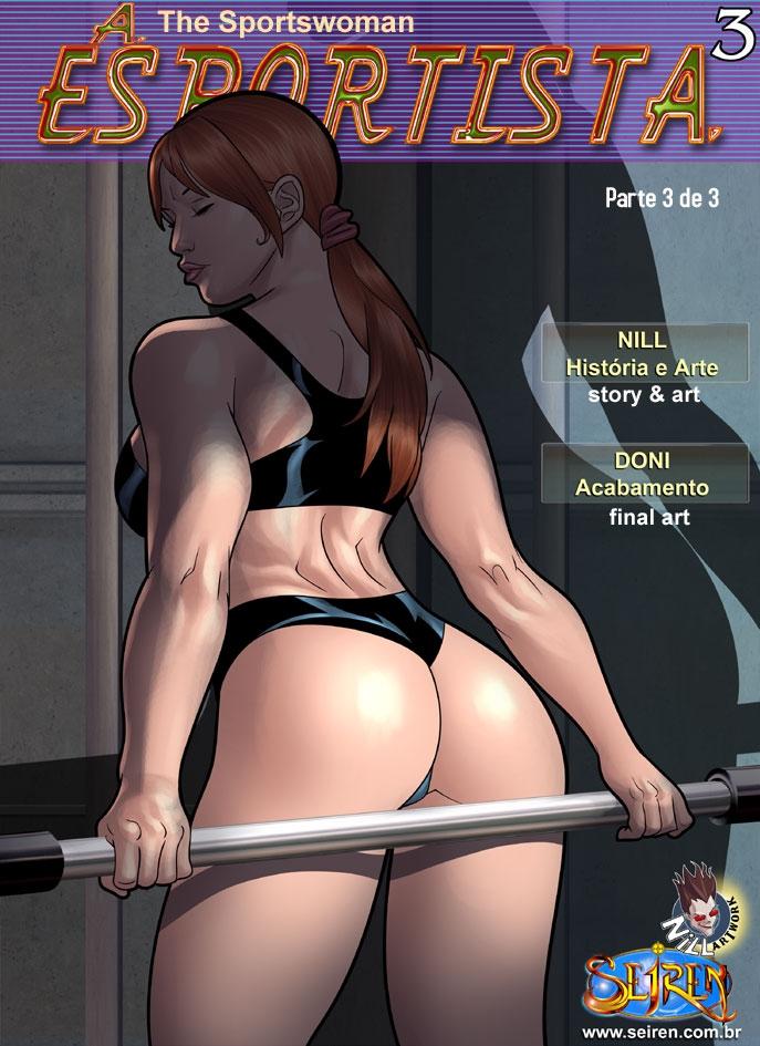 A Esportista 1 1 - A esportista 3 – HQ parte 3