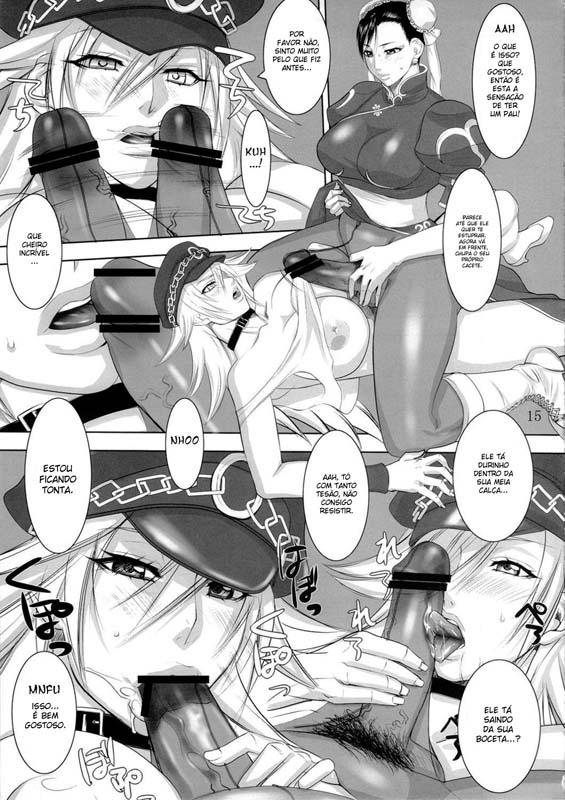 13 2 - Gostosas do Street Fighter - Doujin