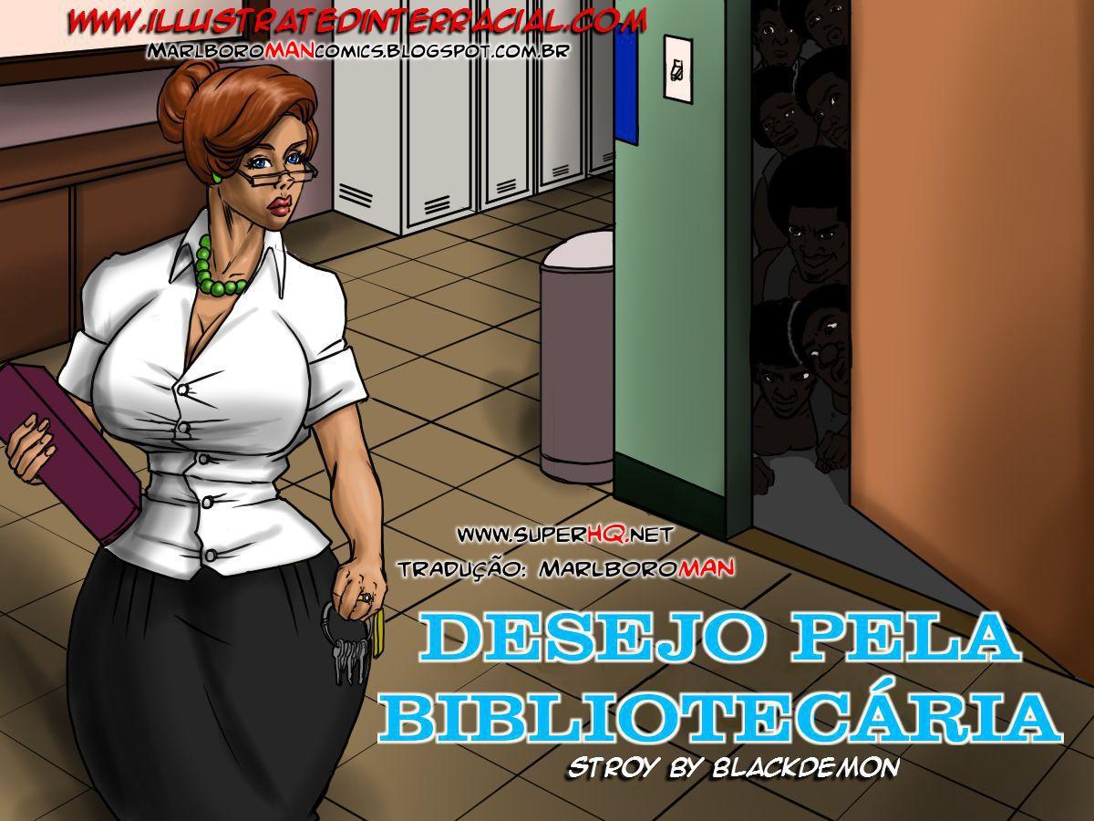 01 1 - Desejos pela bibliotecária - HQ