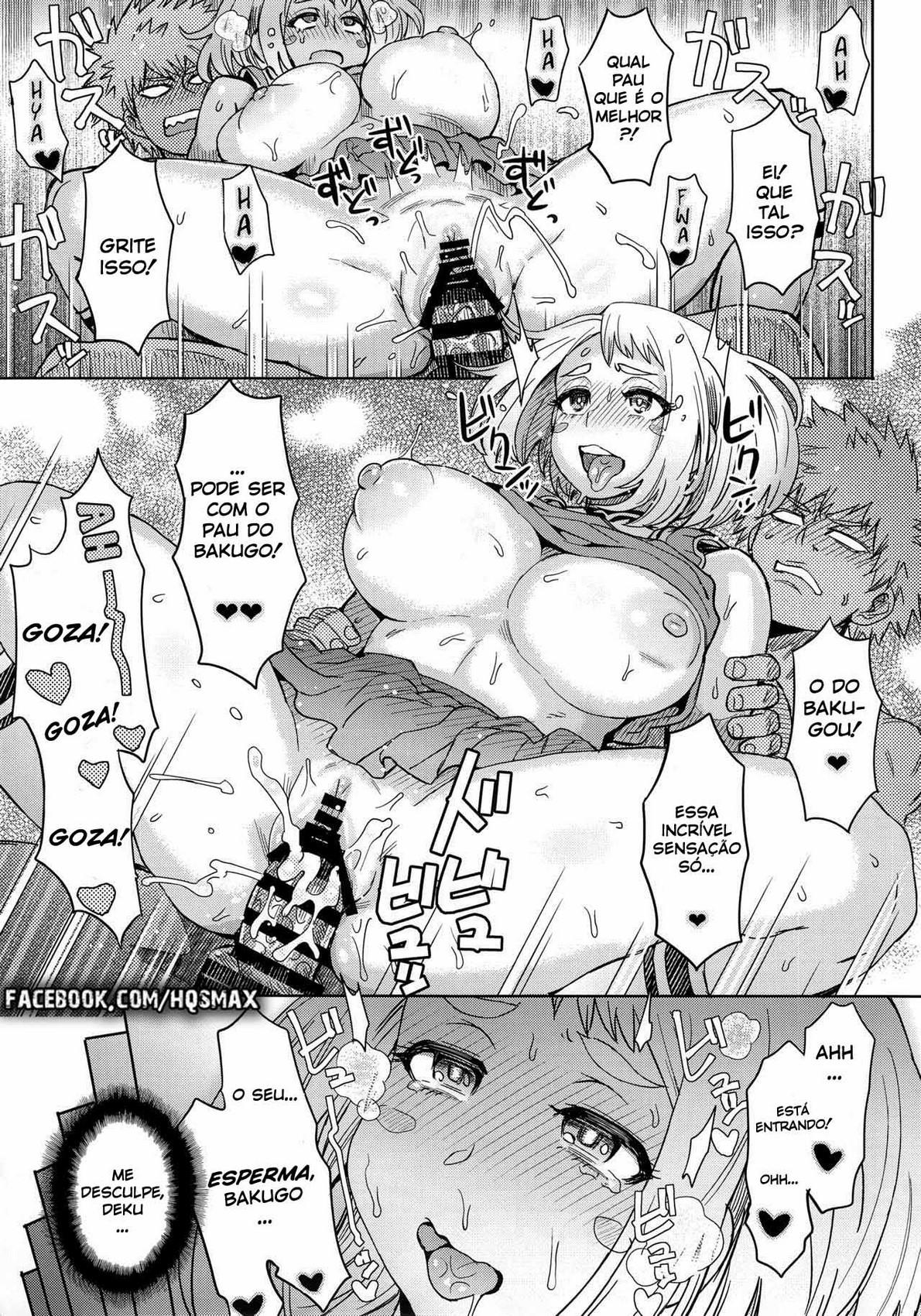 boku no hero academy uraraka s prostitution 25 - Boku no Hero Academy - Uararaka Prostitution Hentai