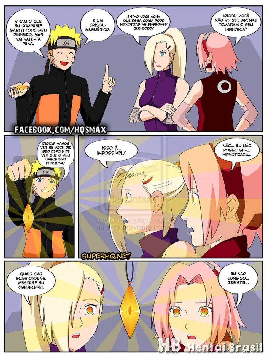 naruto e o cristal magico 0 hentai brasil hq - Naruto E O Cristal Mágico Hentai HQ
