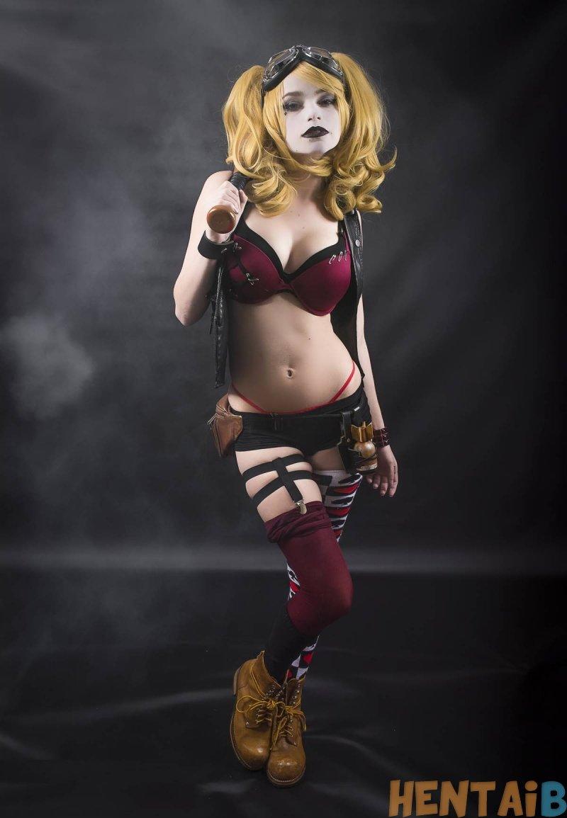 harley quinn cosplay 0 hentai brasil hq - Harley Quinn   Cosplay Hentai